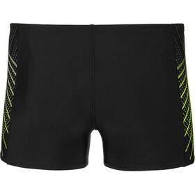speedo Placement Water Shorts Men black/bright zest/oxid grey